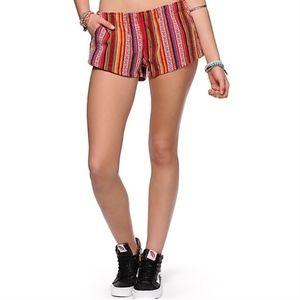 Empyre Xena Guatemalan Stripe Woven Shorts S